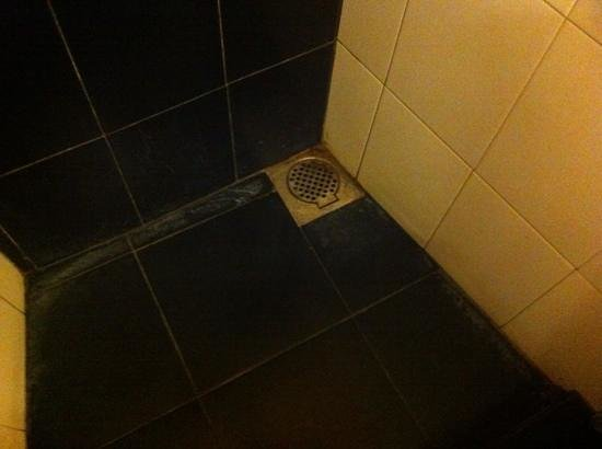 Hotel See Kandy: douche soit disant propre!
