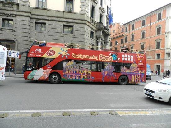 City Sightseeing Rome : os onibus são novos
