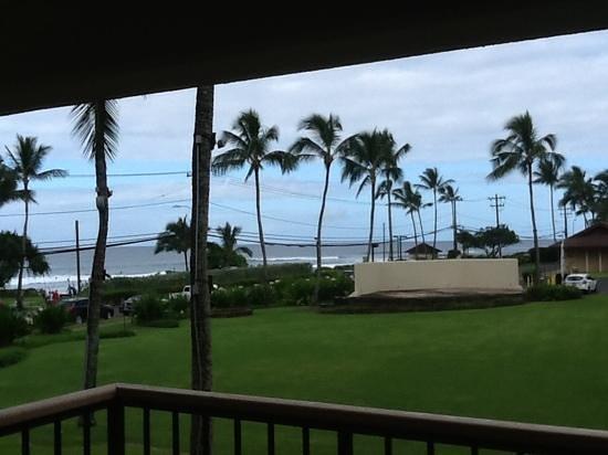 Sheraton Kauai Resort : great ocean sounds from building 3!