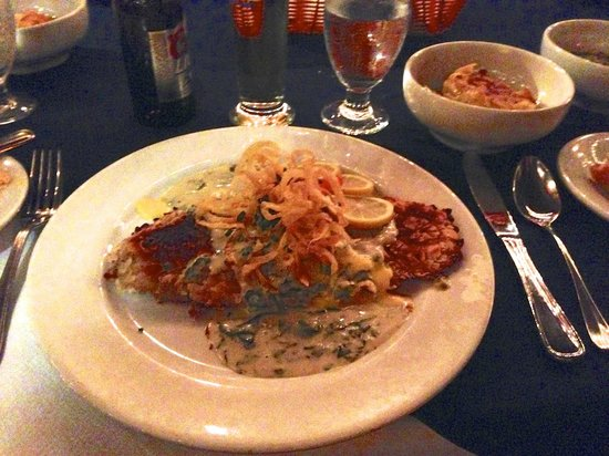 Madame Janette : Madame J's Almond Crusted Grouper…. yum!