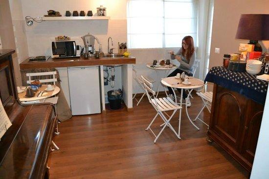 La Casa  di Momi: Sala comune - colazione