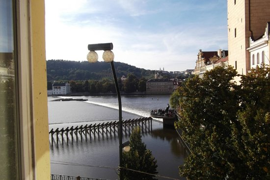 Charles Bridge Palace: View from the room