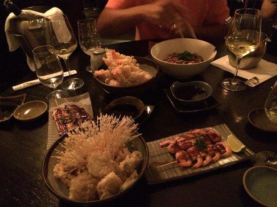 Sushi Leblon : Imenso sushi e algumas entradas