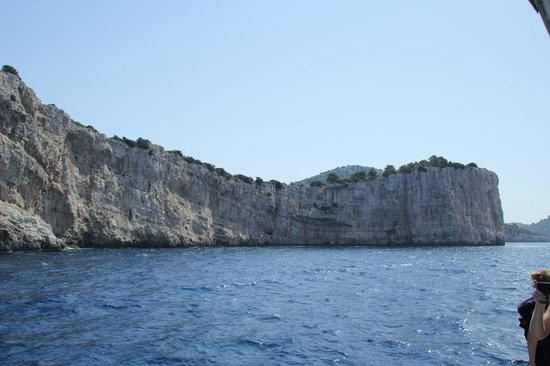 Kornati National Park : Scogliera