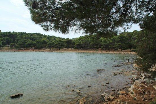 Kornati National Park : Lago salato