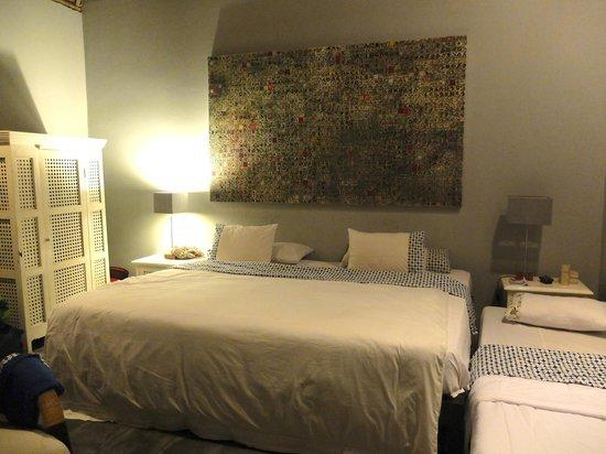 d'Omah Hotel Yogyakarta: Chambre avec extra-bed