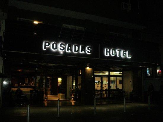 Posadas Hotel: entrada