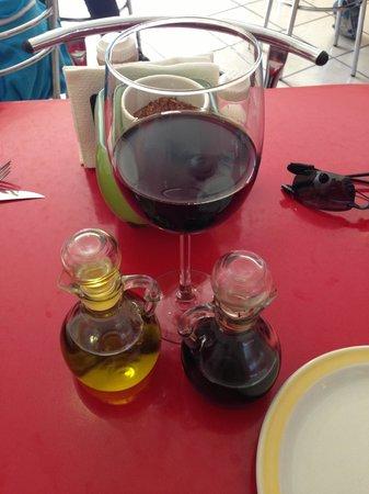 Fiorenza: Excelente vino.