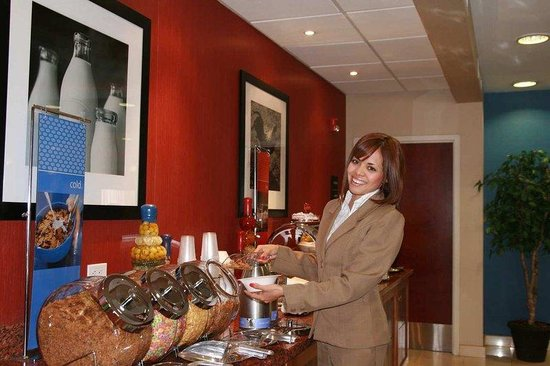 Hampton Inn by Hilton Ciudad Juarez: Breakfast Area