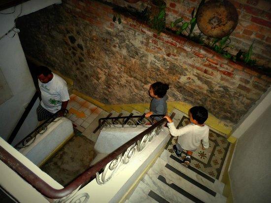 Art Hostel Rio: Escadas