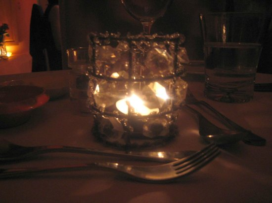 Gastro MK at Maison MK : candle on the table