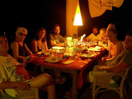 B&B Al Salvatore di Lipari : a cena insieme