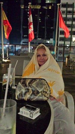 Hilton Rio de Janeiro Copacabana: Magda in rio