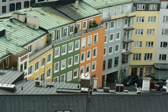 vista de New Town Hall (Neus Rathaus) , Múnich