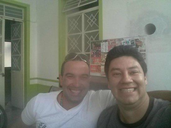 Hostel del Refugio: com mi amigo gustavo