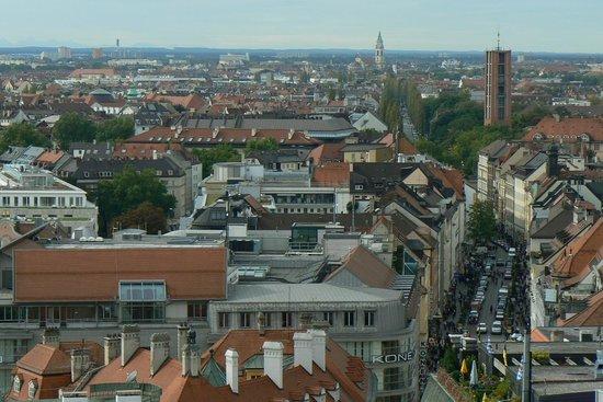 vista da New Town Hall (Neus Rathaus) , Múnich
