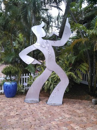 Marietta Museum-Art & Whimsy: Weldment of disco dancer