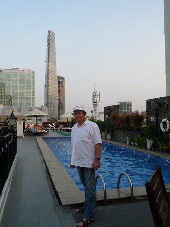 Rex Hotel: Pool Area