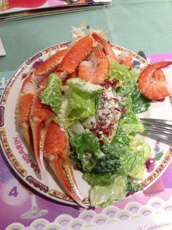 Mandarin Restaurant : King Crab at the Manadrin