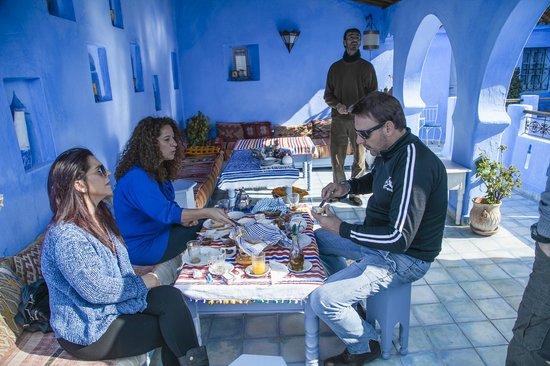 Casa Perleta: terraza comedor