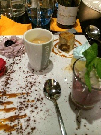 LE CARRE BLANC : café vraiment gourmand ;)