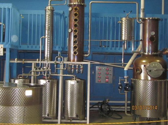 Siesta Key Rum: secondard distilling area