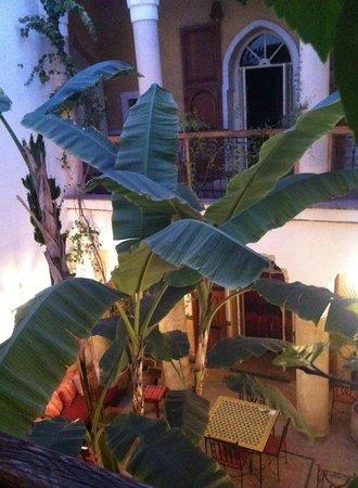 Riad Ker Saada: courtyard