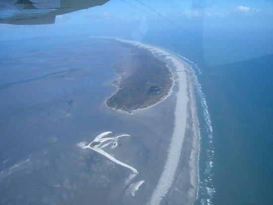 Adventure Flights Golden Bay: End of sand spit Golden Bay