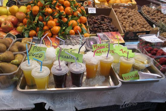 Central Market (Mercado Central) : fresh juice
