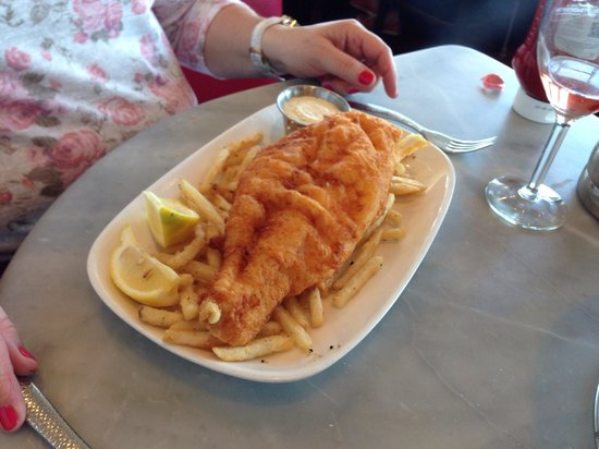 Fish n chips picture of franciscan crab restaurant san for Fish chips restaurant