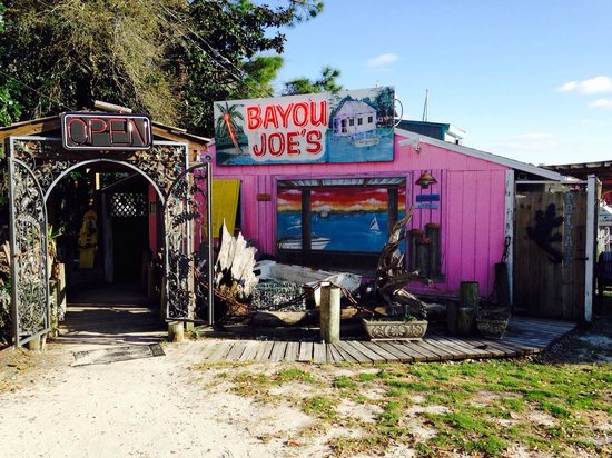 Bayou Joe's: Don't be fooled. There's deliciousness within