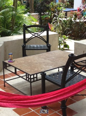 Real Playa del Carmen: nice deck