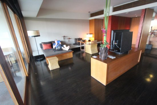 Anantara Chiang Mai Resort: Lounging area