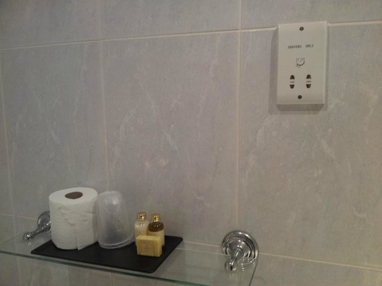 Alexander Thomson Hotel : No need to bring shampoo etc