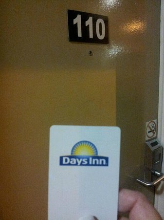Days Inn Vancouver Metro: proof of hotel stay