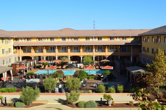 The Meritage Resort and Spa: View from Vineyard