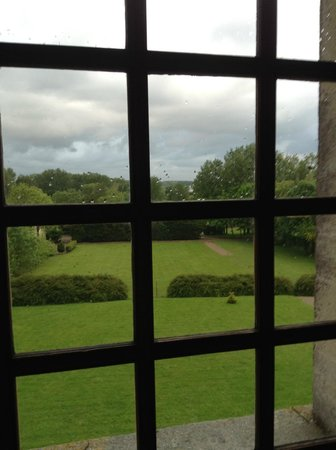 Chateau Francois d'O : view from our room