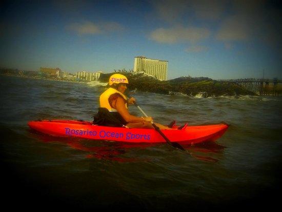 Rosarito Ocean Sports : KAYAK EN PLAYAS DE ROSARITO BC