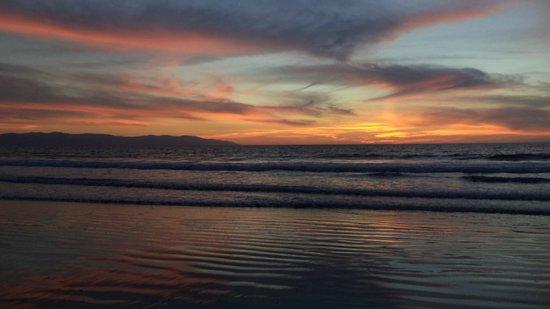 Playa de Nuevo Vallarta: Sunset