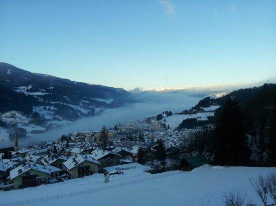 Agritur Darial: Lo splendido panorama che si può ammirare dal balcone della stanza