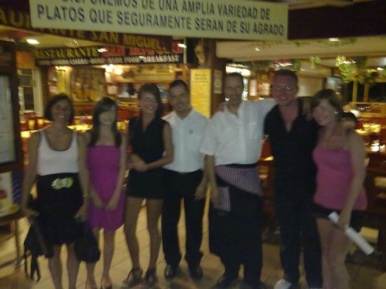 san miguel: Family & the Staff