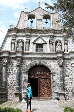 Hacienda La Cienega: The front of the chapel
