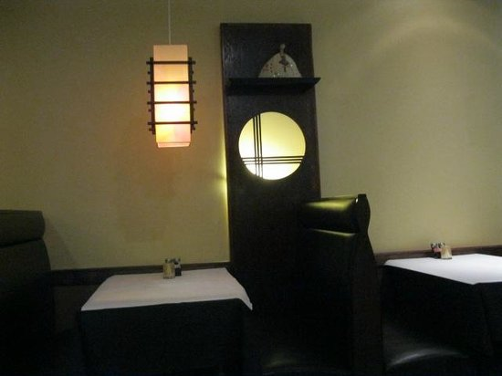 Hana Teppanyaki House : booth at  Hanna Teppanyaki House