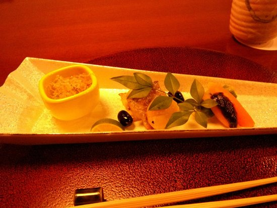 Gora Tensui : Beautifully presented plates