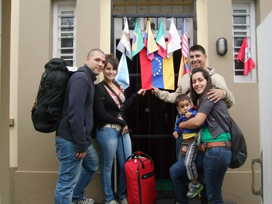 Sol de Miraflores: el dia de la despedida de mis amigos Chile