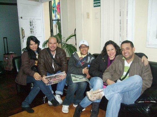 Sol de Miraflores: mis amigos de Venezuela