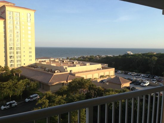Marriott's OceanWatch Villas at Grande Dunes: View from our Villa