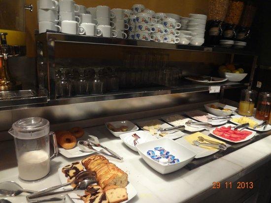 Petit Palace Canalejas Sevilla: desayunador