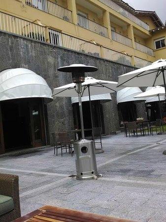 Grande Hotel Campos do Jordao: Jardim de inverno