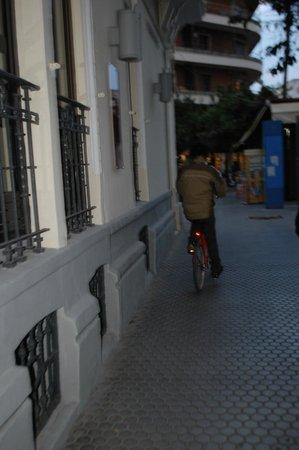Petit Palace Canalejas Sevilla: llegando al hotel